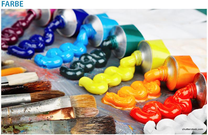 Farbe - Die Bedeutung und Wahrnehmung einer Farbe spiegelt sich in der Produktgestaltung wieder und wird effektiv für Marketingzwecke eingesetzt