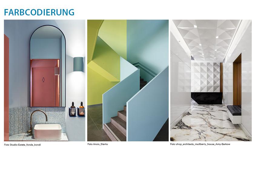 Farbcodierung - Beispiel 3 der Farb-Möglichkeiten
