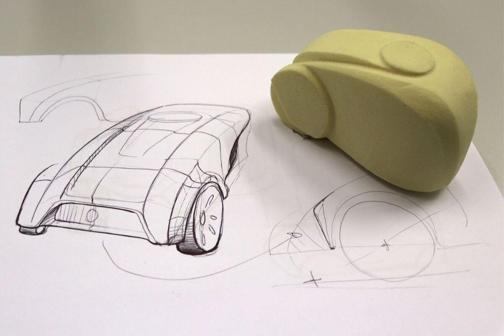 Simoleit Design - erste grafische Schritte im Designprozess