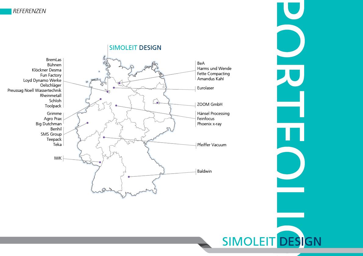Portfolio Simoleit Design - Referenzen