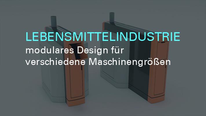 Maschinendesign - modulares Design